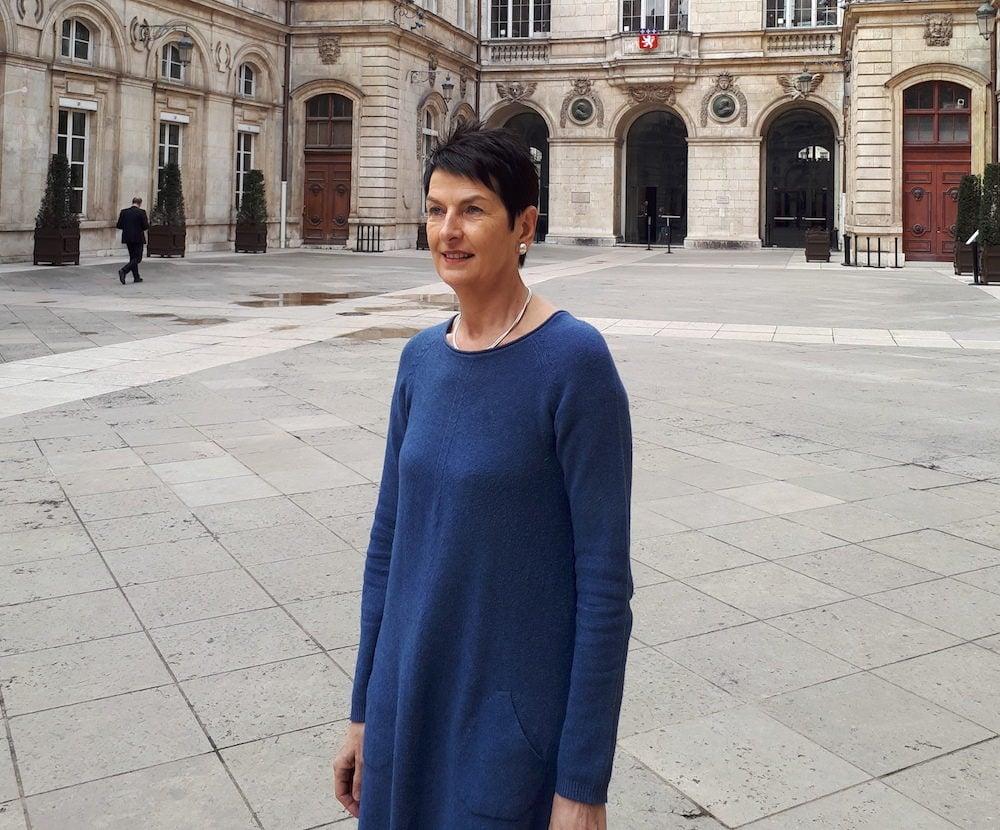 Thérèse Rabatel, adjointe à l'égalité de la Ville de Lyon. ©LB/Rue89Lyon