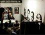"""Une conférence de Pierre Vial, le président de Terre et Peuple le 3 février dernier au """"Pavillon Noir"""", le local du GUD à Lyon. Capture d'écran Twitter."""