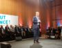 Nicolas Dupont-Aignan en meeting au Centre des congrès de Lyon le 8 avril 2017. Photo BE/Rue89Lyon