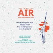Affiche de la 11ème édition des Assises Internationales du Roman ©DR