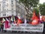 Banderole de tête du 1er mai 2017 à Lyon. ©LB/Rue89Lyon