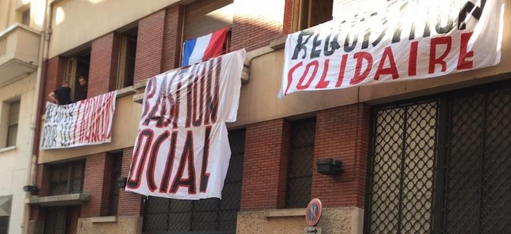 À la manière des néofascistes italiens, le GUD ouvre un squat à Lyon