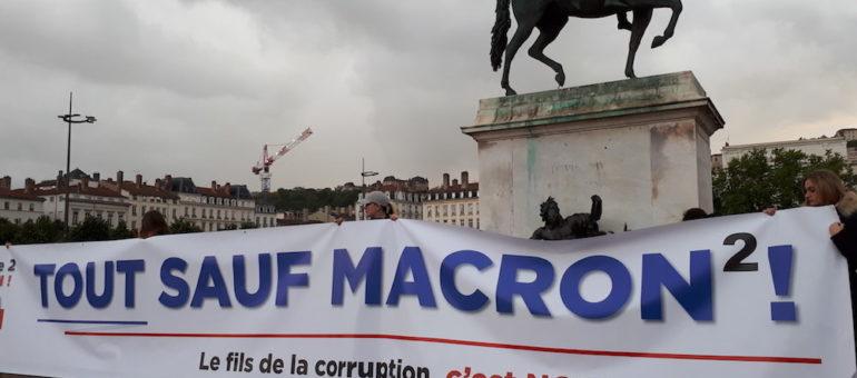 « Tout sauf Macron » : l'extrême droite se rassemble dans l'entre-deux-tours à Lyon