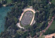 Vue aérienne du vélodrome Georges Préveral ©DR