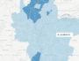 Capture d'écran carte des résultats
