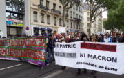 "Le cortège ""ni Le Pen, ni Macron"" le 1er mai à Lyon. ©LB/Rue89Lyon"