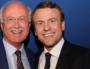 Emmanuel Macron a pris le temps de prendre des photos à Lyon avec les candidats prévus de longue date. (visuel via le FB de JL Touraine)