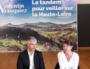 Isabelle Valentin annonce sa candidature en Haute-Loire, avec Laurent Wauquiez en suppléant. Inversion des rôles. Photo FB d'I. Valentin.