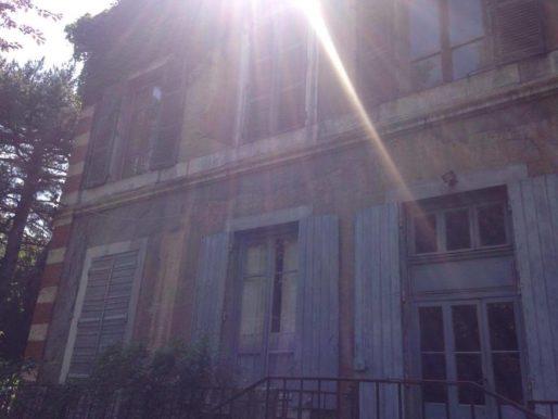 Partie arrière de la villa Monoyer dans le 3ème arr. de Lyon