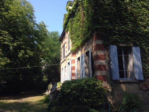 La villa Monoyer dans le 3ème arr. de Lyon vue du jardin