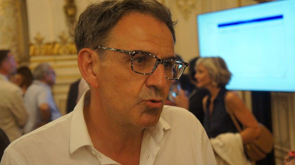 David Kimelfeld au 2ème tour des législatives à la préfecture du Rhône le 18 juin 2017. ©HH/Rue89Lyon