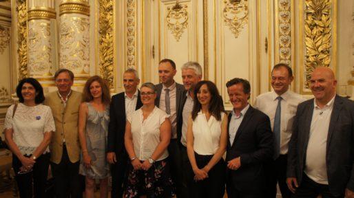 Députés LREM à la préfecture du Rhône le 18 juin 2017