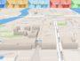 Capture d'écran appli Lyon en 3D