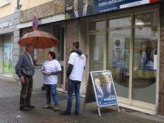 Local de campagne de Jérôme Moroge. Photo page Facebook