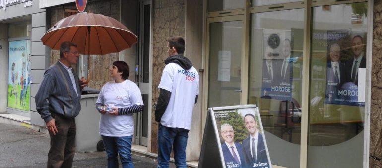 12e circo du Rhône : Michel Terrot abandonne son fauteuil de député mais squatte les affiches