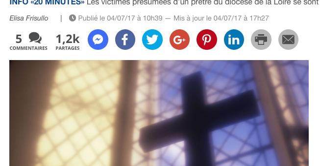 Pédophilie : y a-t-il une «affaire Preynat bis» dans le diocèse de Saint-Etienne?