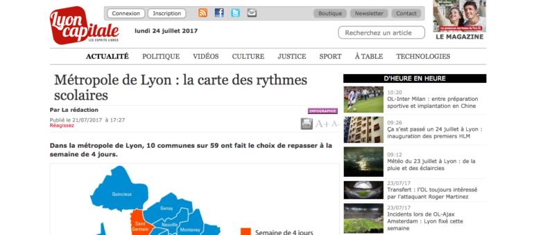 Rythmes scolaires dans le Rhône : 10 communes repassent à la semaine de quatre jours