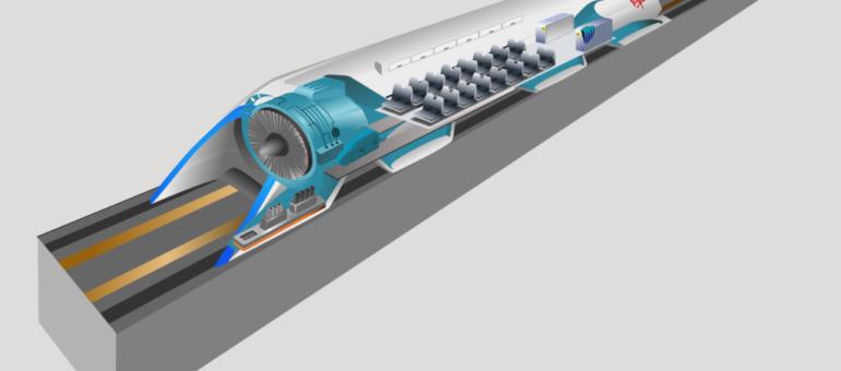 Saint-Étienne-Lyon en 8 minutes, le «train supersonique» Hyperloop est-il une alternative à l'A45?