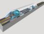 Le projet de capsule sur coussins d'air Hyperloop. Image By Camilo Sanchez (Own work), CC BY-SA 4.0, via Wikimedia Commons