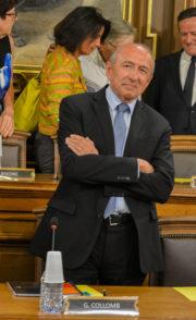 Gérard Collomb. ©Rue89Lyon