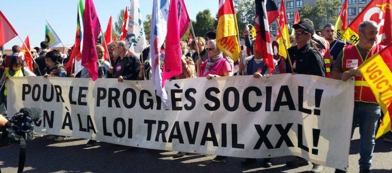 A Lyon, deuxième journée contre la loi travail 2 : une vraie manif mais une mobilisation qui marque le pas