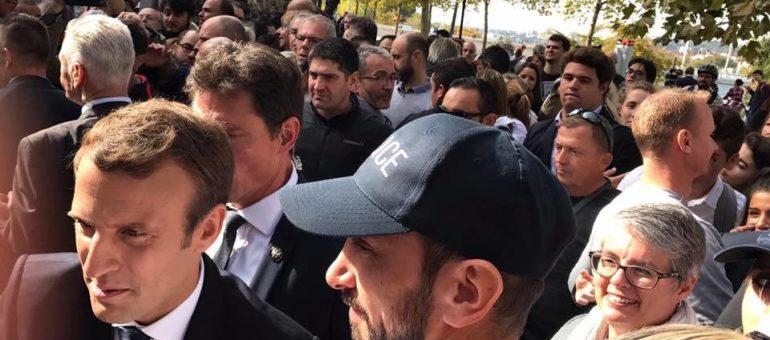 On a épargné aux yeux d'Emmanuel Macron la vue d'un camp de migrants à Lyon