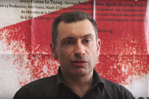 Lilian Mathieu, sociologue, invité du festival La chose publique. Capture vidéo Rue89Lyon