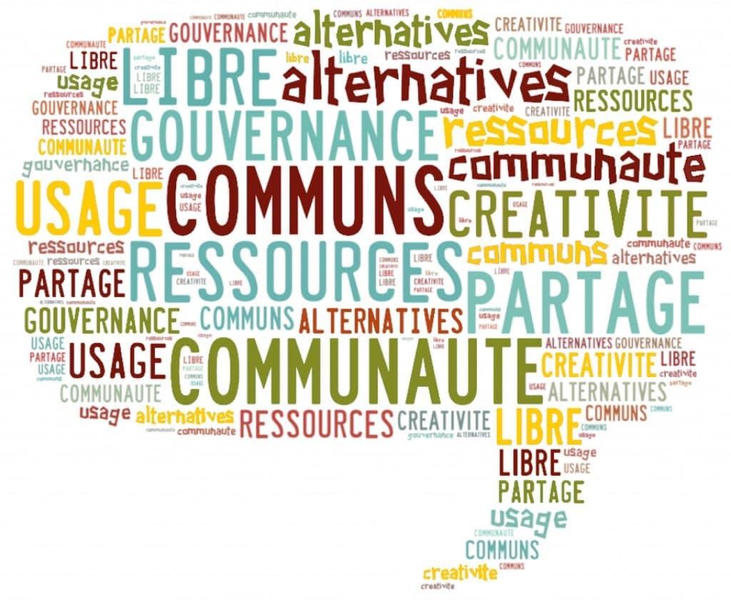"""Illustration du Festival """"Villes en biens communs"""""""