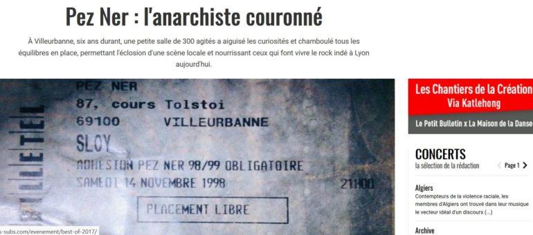 Le cultissime Pez Ner de Villeurbanne, ancêtre des salles de concert alternatives à Lyon