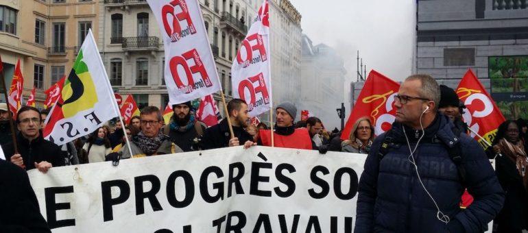 A Lyon, 4e manif contre la loi travail 2 : La jeunesse n'est pas dans la rue