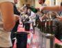"""Dégustation de vin d'Alsace au salon """"Sous les pavés la vigne"""" 4e édition à Lyon. Photo VO/Rue89Lyon"""
