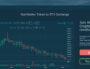 Cours des tokens de Domraider sur le site Hitbitcoin. Capture d'écran