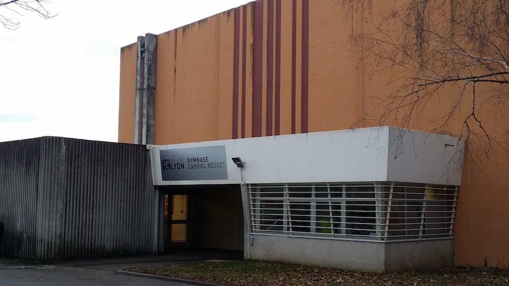 Le gymnase de la Ville de Lyon, Gabriel Rosset, à Gerland. ©DR