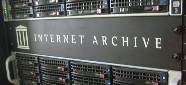 Le jeu en ligne selon The Internet Archive