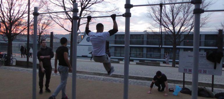 « Body Art Athlètes de Rue » et « Soldats du quai » : qui sont les muscles des berges du Rhône ?