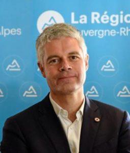 La photo de Laurent Wauquiez qui doit introduire les programmes culturels des salles subventionnées. DR
