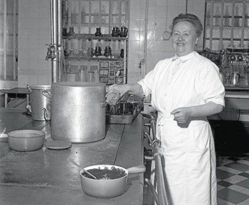 Eugénie Brazier, parangon de la mère lyonnaise. DR