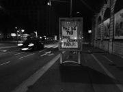 À Jean Macé, l'affiche anti-pub remplace la publicité arrachée. ©MartaSobkow pour Rue89Lyon