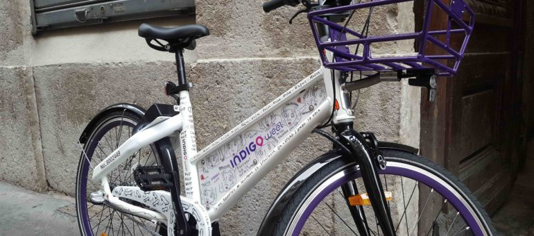 Vélos en libre service : Indigo Weel arrive à Lyon pour titiller les Velov