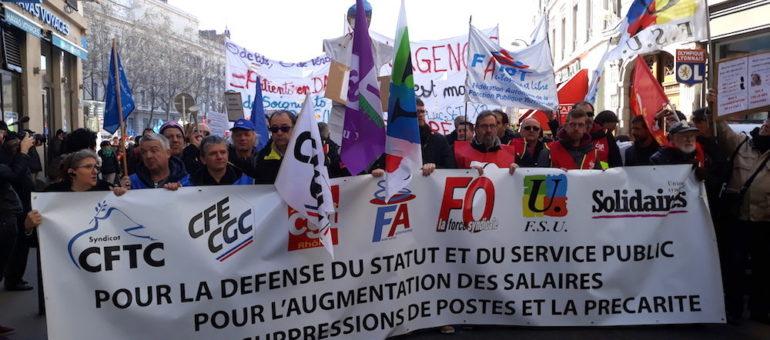A Lyon, la fonction publique en marche ce 22 mars