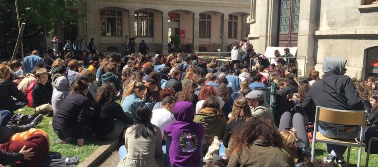 Le blocage continue à Lyon 2: les examens en sursis
