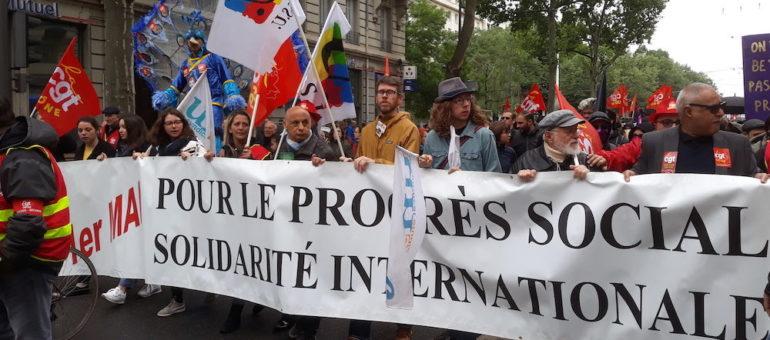 1er mai à Lyon, sous le signe de la «convergence des luttes»
