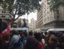 Les étudiants nassé durant la manifestation du mercredi 16 mai. ©SP/ Rue89Lyon