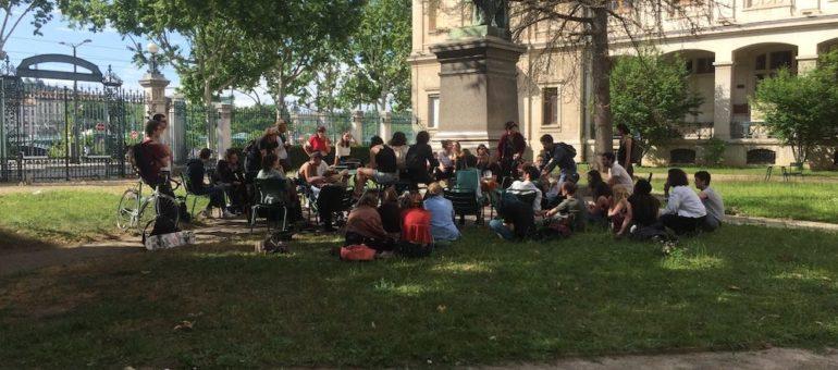 Lyon 2 : mini occupation d'un jour contre Parcoursup