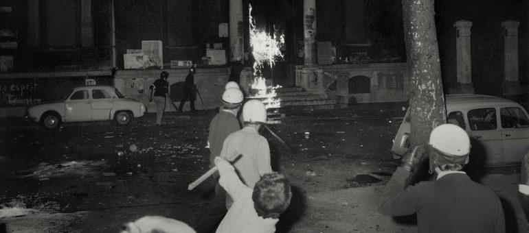 Mai 68 à Lyon : le drapeau rouge a flotté sur la fac de Lettres occupée