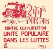 L'appui du PSU aux luttes ouvrières de la région lyonnaise. ©CEDRATS, MG_52