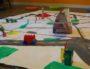"""Atelier """"dessine ton quartier"""" au Centre social des Buers ©Inès Mittane / LBB"""