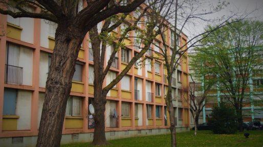 Bâtiment de la Résidence Pranard, à Villeurbanne
