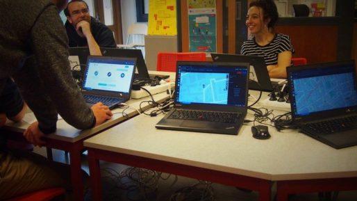 """Au pôle numérique du CCO de Villeurbanne, l'atelier """"Cartographie ton quartier"""""""