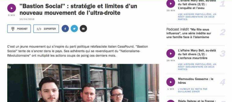 Les juifs, l'argent, les ennemis de l'intérieur : les clichés craignos du chef du Bastion Social à Lyon